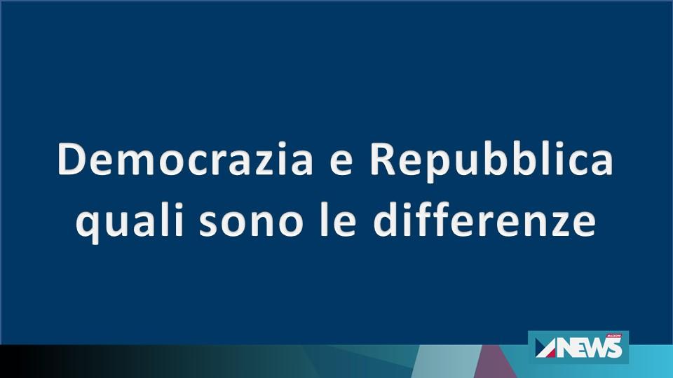 Demorazia e Repubblica: quali sono le differenze