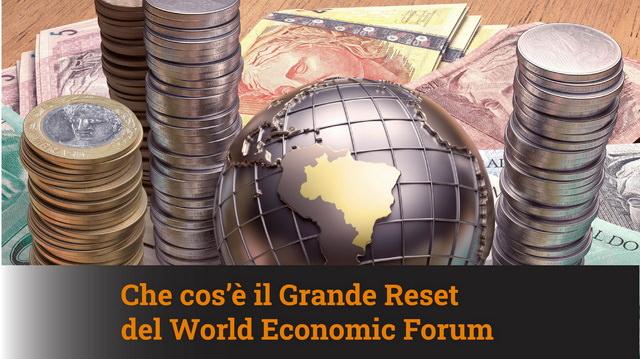 Che cos'è il Grande Reset del World Economic Forum